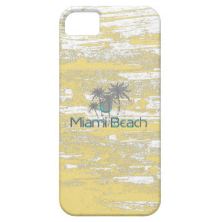 Miami-Beach, Florida,Palms, Grunge Cool Barely There iPhone 5 Case