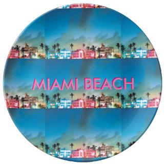 MIAMI BEACH FLORIDA PLATE