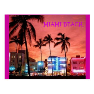 Miami Beach, Florida Postcard