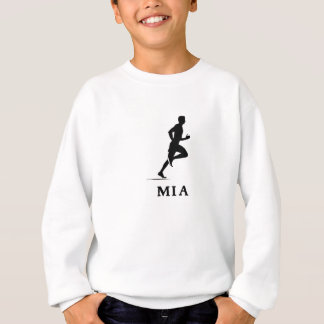 Miami Beach Florida Running MIA Sweatshirt