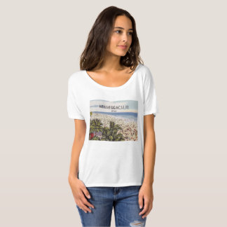 Miami Beach, Florida, Vintage Postcard T-Shirt