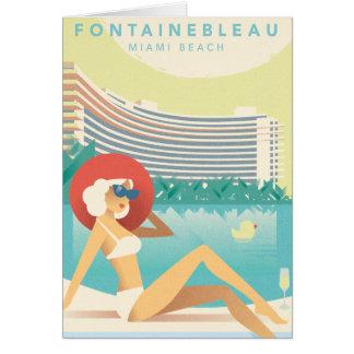 Miami Beach | Fontainbleau Card