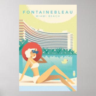 Miami Beach | Fontainbleau Poster