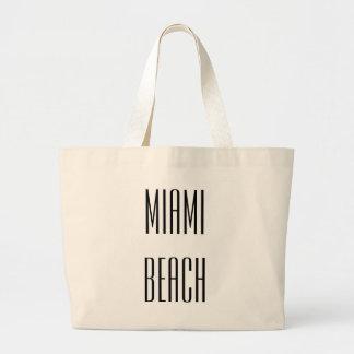 Miami Beach Jumbo Tote Tote Bags