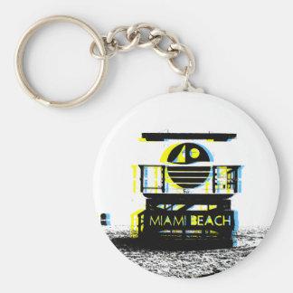 Miami Beach Key Ring