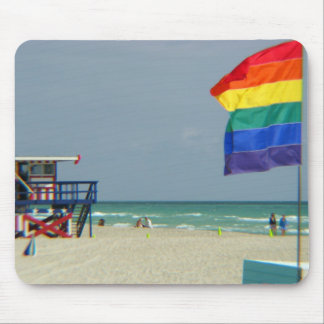 Miami Beach Mouse Pad