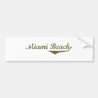 Miami Beach  Revolution t shirts Car Bumper Sticker