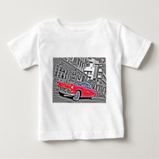 Miami Beach T-Bird Baby T-Shirt