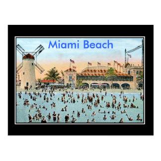 Miami Beach Vintage Postcard