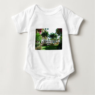 Miami Biltmore pool area Baby Bodysuit