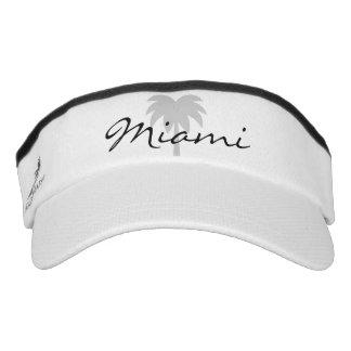 Miami boat captain hats | palm tree sun visor cap