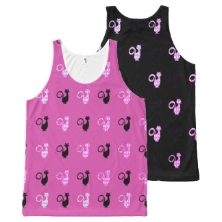 Miami--Cat's_Double-Trouble_Fun-Tank-Top All-Over Print Singlet