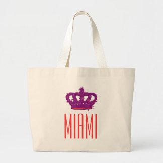 Miami Crown Jumbo Tote Bag