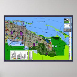 Miami-Dade County Land Use Plan Poster