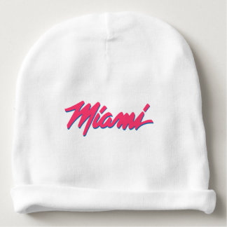 Miami designed beanie baby beanie