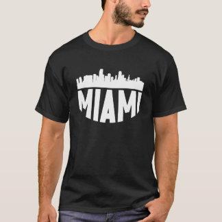 Miami FL Cityscape Skyline T-Shirt