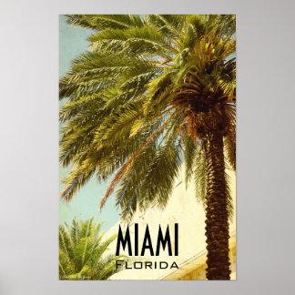 Miami Florida Artwork Poster