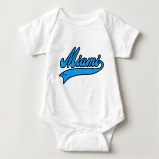 Miami Florida Baby Bodysuit