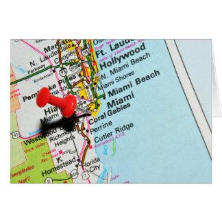Miami, Florida Card