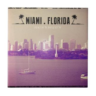 Miami Florida Ceramic Tile