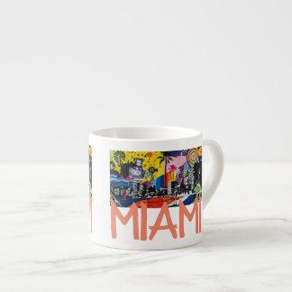 Miami Florida Espresso Mug