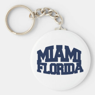 Miami Florida Key Ring