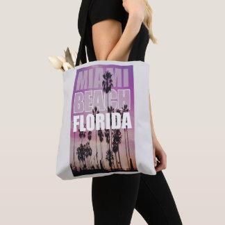 Miami Florida Palms Beach Photo, Photography Tote Bag