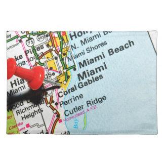 Miami, Florida Placemat