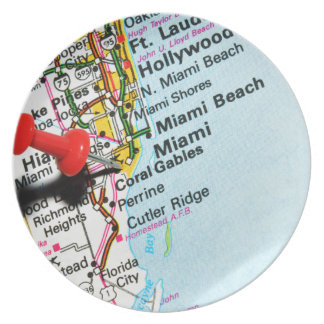 Miami, Florida Plate