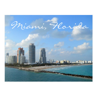 Miami Florida Postcard