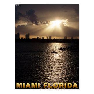 Miami, Florida Postcard