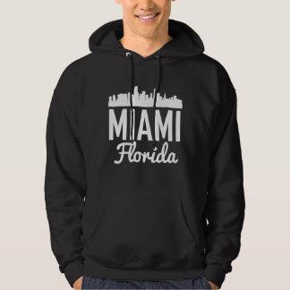 Miami Florida Skyline Hoodie