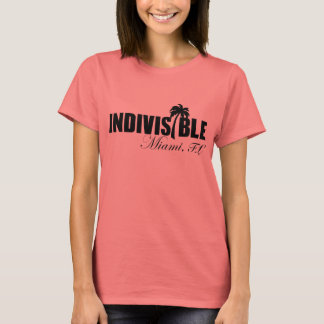 MIAMI Indivisible women t-shirt - blk logo