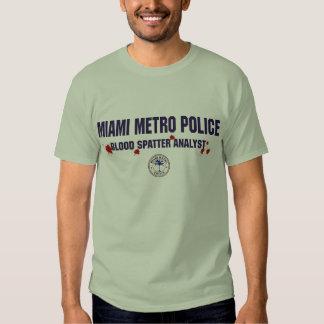 MIAMI METRO POLICE T SHIRT