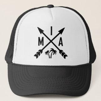 Miami Palm Tree Trucker Hat