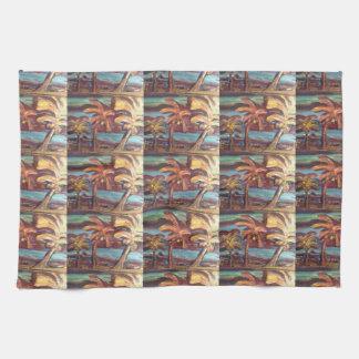 Miami Palms Kitchen Towel