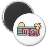 Miami Refrigerator Magnet