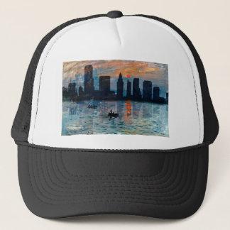 Miami Skyline 7 Trucker Hat