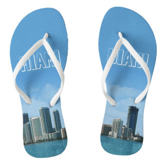 Miami Skyline Thongs