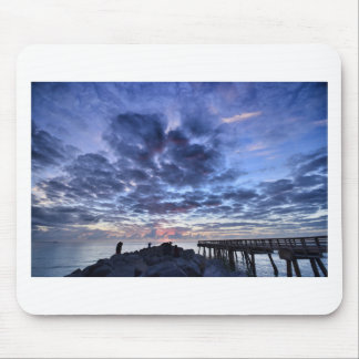 Miami South Point Sunrise Mouse Pad