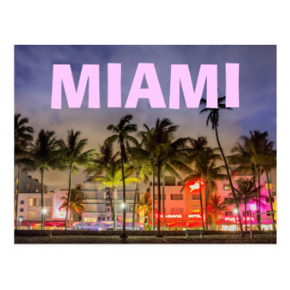 MIAMI SSOUTH BEACH POSTCARD