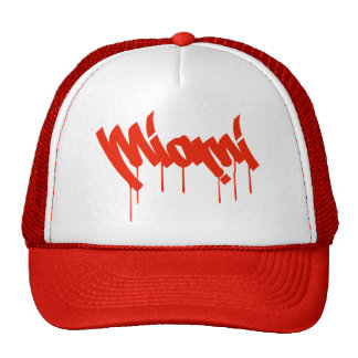 Miami street artist style cap