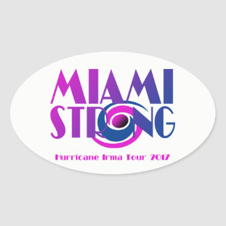 Miami Strong Hurricane Irma Sticker