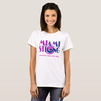 Miami Strong Hurricane Irma T-Shirt - Light