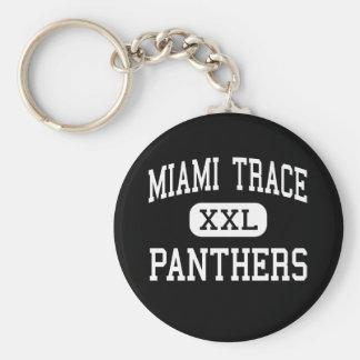 Miami Trace - Panthers - Washington Court House Key Ring