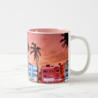 MIAMI Two-Tone COFFEE MUG