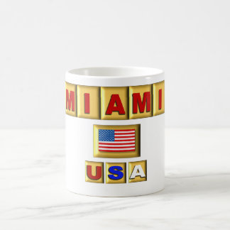 Miami USA - coffee cup