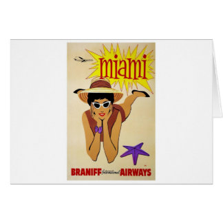 Miami Vacation Gifts Card