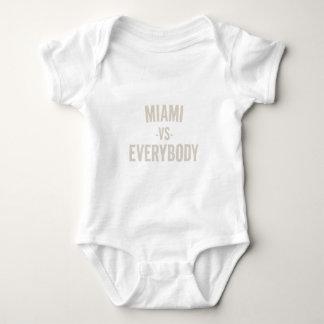 Miami Vs Everybody Baby Bodysuit