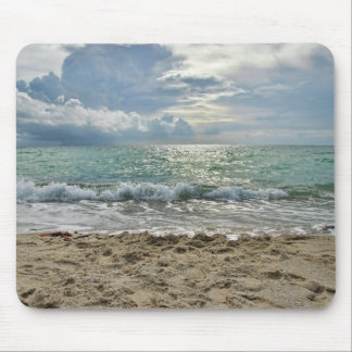 Miami's Beach Mouse Pad